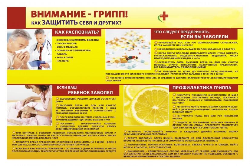 Осторожно грипп раскраски